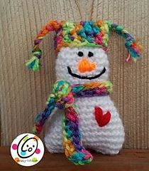 Itty Bitty Snowman