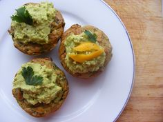 Chickpea cakes. They are good with yogurt and hummus.