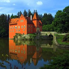 Cervena Lhota Castle, Bohemia, Czech Republic. (Not in 1000 Places...but quite cool)