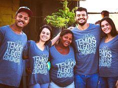 A sua t-shirt pode ajudar a construir a casa de uma família que precisa. = Venha fazer parte dessa transformação.   TETO e EUZARIA Disponíveis nos Espaços Euzaria Shop. Barra Shop. Paralela e através do site euzaria.com.br Enviamos para todo Brasil @techo_org #euzaria #teto #techo #negociosocial #capitalismoconsciente #ong #sustentabilidade by euzaria_ http://ift.tt/1TMCCBL