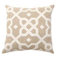 Ginger Brewton Interiors Tuscan Tile Pillow