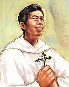 Vietnamese martyr, St Peter Hieu Van Nguyen was a catechist who was arrested by authorities and beheaded. His feast day is 10 May.