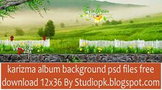 Karizma Album Background Psd Files Free Download 12x36 Collection