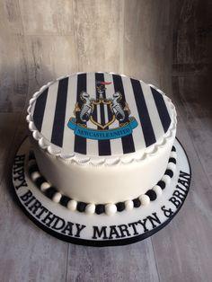 Newcastle United cake