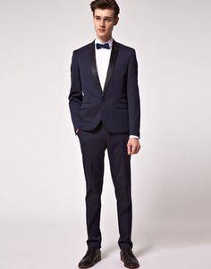 ASOS Skinny Fit Tuxedo Suit