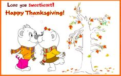 Thanksgiving Love quotes for Greeting Cards