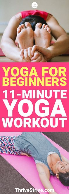 Ready to get started with Yoga? This yoga workout is great for any beginners. It's the perfect yoga for beginners workout. #Yoga