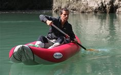 Survival instinct: Bear Grylls in a scene from new series Escape from Hell