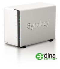 DS212j  Budget-friendly 2-bay NAS Server for Small Office and Home Use