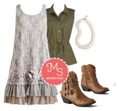 """""""Frill-ness is the Move Dress"""" by modcloth ❤ liked on Polyvore"""