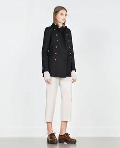 Image 1 of SHORT COAT from Zara