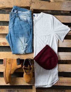 Timberland Outfit Grid