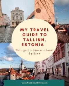 My Travel Guide to Tallinn, Estonia - From Bee With Love Beautiful Places To Travel, Best Places To Travel, Cool Places To Visit, Europe Travel Guide, Travel Destinations, Holiday Destinations, Expedia Travel, Estonia Travel, Journey