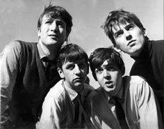 John Lennon, George Harrison, Richard Starkey, and Paul McCartney