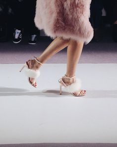 Apparently fur is not only for Winter at @topshop show  #topshopunique #SS16 by adenorah