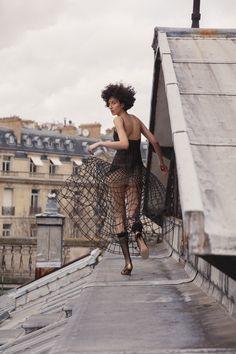 ELLE Brazil Haute Couture Dior 2018 Renata Scheffer by Leo Faria