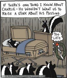 skunk funeral