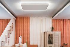 easyLight - Lichtrahmen für Ihre Infrarotheizungen Wärme und Licht in einem! Was will man mehr? Jetzt gibt es die erste Infrarotheizung mit effizienter LED-Technologie! Der easyLight Lichtrahmen umgibt das Infrarotpaneel perfekt und sorgt für stimmungsvolle Beleuchtung mit einem äußerst angenehmes Licht. Modern, Curtains, Led, Home Decor, Technology, Frame, Lighting, Homemade Home Decor, Trendy Tree