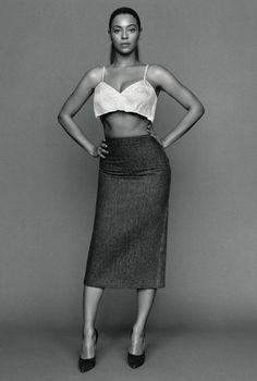 Beyoncé for The Gentlewoman Magazine Spring/Summer 2013 Photographer: Alasdair McLellan