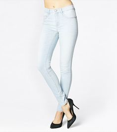 We're addicted to these blue heaven high waisted jeggings! High Waist Jeggings, Diamond Are A Girls Best Friend, Style Me, Heaven, Skinny Jeans, Leggings, Hourglass, Womens Fashion, Pants