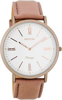 C7709 Oozoo timepieces pinkgrey/white €49,95 @Chulo dames/herenfashion http://www.miinto.nl/shops/b-1193-chulo-dames-herenfashion/sort=created+desc