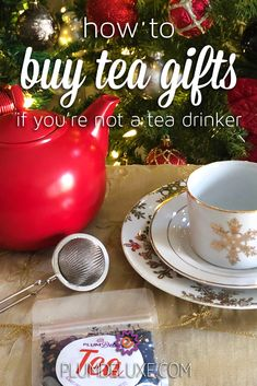 It's easy to buy tea gifts with this ultimate guide to teas and accessories – for all the tea lovers on your holiday shopping list. English Breakfast Tea, I Love Snow, Buy Tea, Tea Gifts, Loose Leaf Tea, Tea Accessories, It's Easy, Teas, Lovers Gift
