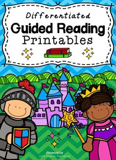 Now with 140+ pages, this packet contains ready-to-go printables to engage your students during guided reading. Each activity is differentiated (high, middle, low) to meet the needs of your class and may be used with ANY books. Teacher notes are included.