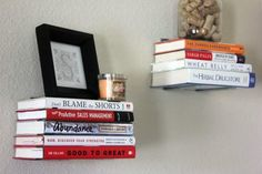 How To Make DIY Projects Make Shelves From Upcycled Books
