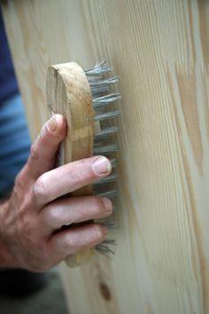 Ceruser meuble bois