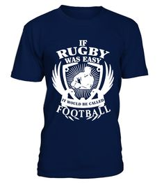 # rugby was easy T Shirt best sport team player gift .  HOW TO ORDER:1. Select the style and color you want: 2. Click Reserve it now3. Select size and quantity4. Enter shipping and billing information5. Done! Simple as that!TIPS: Buy 2 or more to save shipping cost!This is printable if you purchase only one piece. so dont worry, you will get yours.Guaranteed safe and secure checkout via:Paypal | VISA | MASTERCARD