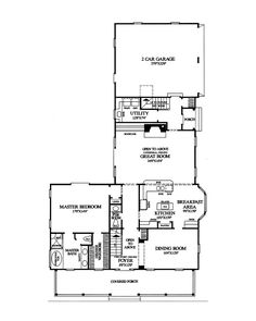 The Quail Ridge Cottage Home has 3 bedrooms, 2 full baths and 1 half bath. See amenities for Plan 128D-0003.