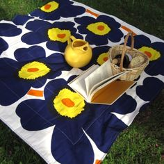 Marimekko Picnic Blanket