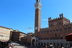 More from Sienna. City Hall, Piazza del Campo