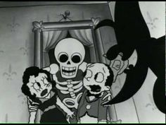 If you like Minnie The Moocher this animated music video might be right up your alley: The Squirrel Nut Zippers: Ghost of Stephen Foster from the album Perennial Favorites. Winner of Best Animated Music Video at the 1999 Vancouver Animation Festival. Directed by Raymond Persi and Matthew Nastuk. Anyone else remember this?