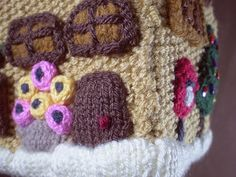 Ravelry: Gingerbread House 2, Doors pattern by Frankie Brown