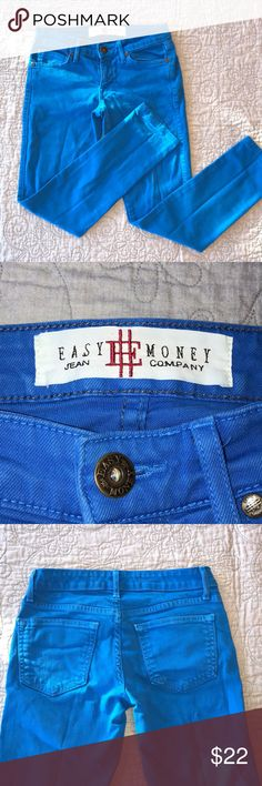 🌺 Easy Money Jean Company Size 24 🌺 These jeans are not as stretchy as some other skinny jeans , so you will need to be a true size 24. All reasonable offers considered.🌺 Easy Money Jeans Company Jeans Skinny