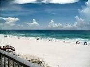 The white sand of Destin, Florida.  Looks like snow....but it is not!