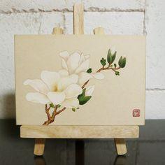 올 겨울 가장 춥다는 오늘... 요새는 '삼한사미' 라고 하네요.. 이불밖은 위험해요!!오늘 외출하시는 분들... Art And Fear, Art Painting, Impasto Painting, Botanical Illustration, Drawings, Korean Art, Fabric Painting, Plant Drawing, Flower Drawing
