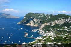 Awh.. Capri, Italy. Who wouldn't want to go here.