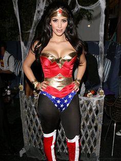 Kim Kardashian as Wonder Woman