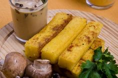Polenta Gold Fingers..  Our recipe comes from the Gold Room Restaurant at The Mine House Inn in Amador County.  #recipe