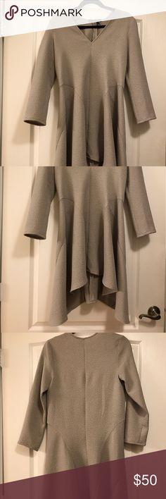 BCBGMAXAZRIA Dress BCBG dress in grey. Never worn. BCBGMaxAzria Dresses Mini