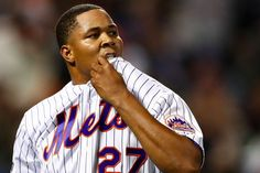 """Jeurys Familia, an All-Star pitcher for the New York Mets, was arrested for domestic violence only weeks after he publicly campaigned against domestic abuse. According to a complaint filed by authorities in a New Jersey municipal court on Monday, Familia caused a """"bodily injury to another."""" The victim whose name was redacted had a scratch on his or her chest and a bruise on his or her right cheek, officials observed. The responding law enforcem"""