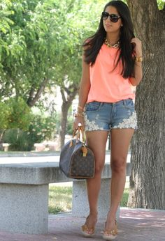 oasap  Shorts, Sfera  T Shirtssfera.comVisit sfera.com and Zilian  Heels / Wedges