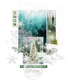 """Winter"" by ester77zoe ❤ liked on Polyvore featuring art"