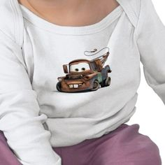 Tow Truck Mater Smiling Disney T-shirt from http://www.zazzle.com/disney+cars+gifts