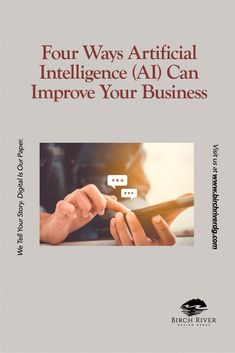Artificial Intelligence may sound futuristic, but there are many ways it can help improve your business functions! Read our blog to learn more.   #ai #artificialIntelligence #business #businesstips #chatbots Digital Story, Artificial Intelligence, Business Tips, Improve Yourself, Learning, Futuristic, Blog, Studying, Blogging