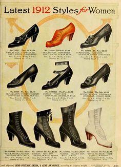 1912 women's shoes    @Krispol Jaijongrak  these styles?