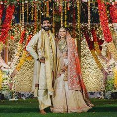 The Wedding Date, Wedding Book, Wedding Ideas, Wedding Pics, Wedding Events, Wedding Stuff, Celebrity Wedding Photos, Celebrity Weddings, Indian Bride And Groom