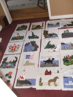 Newfoundland Quilt Newfoundland Canada, Newfoundland And Labrador, Quilt Patterns, Quilting Ideas, Love Sewing, Quilt Making, Quilt Blocks, Sewing Crafts, Applique